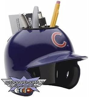 Chicago Cubs Mini Helmet Desk Caddy (Quantity of 1)
