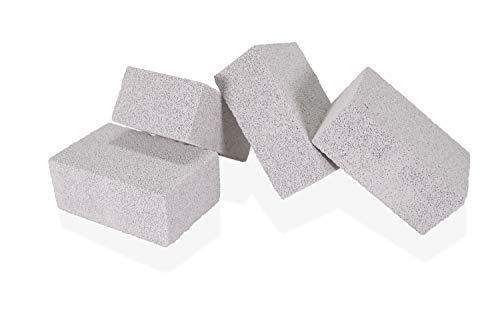 Tamwell 4 Bloques de Piedra para Limpieza de Parrillas de Asador Perfectos para Limpieza de Barbacoas y Cocinas