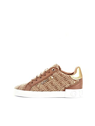 Guess Sneaker Low Puxly Beige Damen - 39 EU