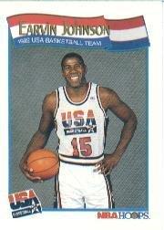 1991 Hoops Basketball Card (1991-92) #578 Magic Johnson