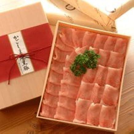 しゃぶしゃぶ用鹿児島産黒豚肉 (下ロース 700g)