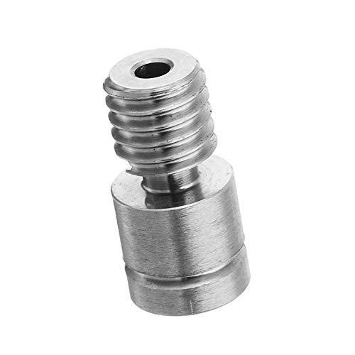 TC4 Titanium Alloy M6 Extruder Nozzle Throat for 3D Printer CR-10