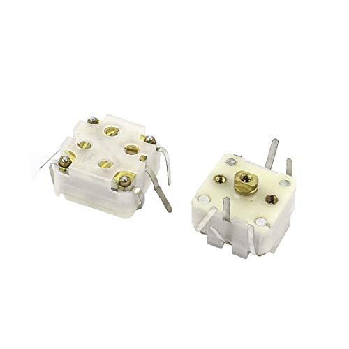 X-DREE 2pcs 443DF 20-126pF Medium Variodencer Einstellbarer Kondensator für Radio (af6fcc4e506400ee5288af758a33fed3)