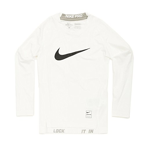 Nike Cool HBR Comp LS YTH T-Shirt für Kinder, Kinder, Cool Hbr Comp Ls YTH, XS