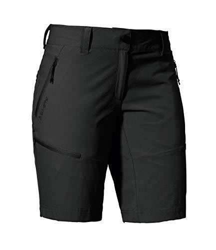 Schöffel Shorts Toblach2, leichte und kühlende kurze Wanderhose mit elastischem Stoff, vielseitige Outdoor Hose mit optimaler Passform und praktischen Taschen Damen, asphalt, 42
