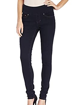 Jag Jeans Women s Nora Pull On Skinny Fit Jean After Midnight 0