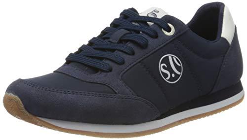 s.Oliver Damen 5-5-23680-24 Sneaker, Blau (Navy Uni 812), 39 EU