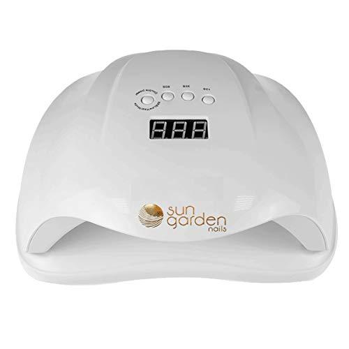 UV LED Lampe 54 W Modell SunX für Gel, Gellack mit Sensor und Timer, Lichthärtungsgerät für Naildesign