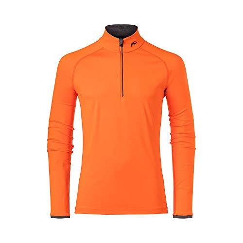 Kjus Men Feel Halfzip Orange, Herren T-Shirt, Größe 48 - Farbe Kjus Orange