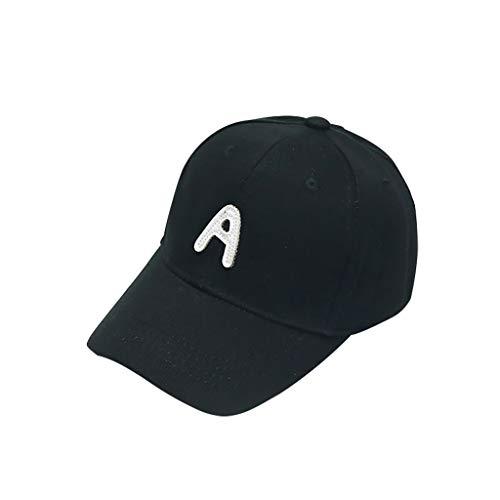 TWIFER Sombrero de Gorra de Beisbol para niñas Sombreros de Sol para niños Sombreros de Playa con patrón de Carta Lindo Verano Bebé Algodón Sunhat Eaves Anti UV