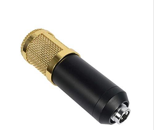 Novopus micrófono:El diafragma de la cinta de grabación de trigo, la red de telefonía móvil, ordenadores y un micrófono de condensador, El negro