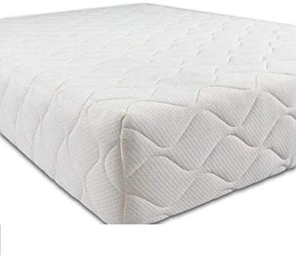 Travel Cot Mattress 95cm x 65cm x 7.5cm Extra Thick with Waterproof Quilted Removable Breathable Cover