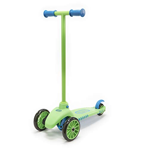 Little Tikes Lean to Turn Scooter Vert/Bleu