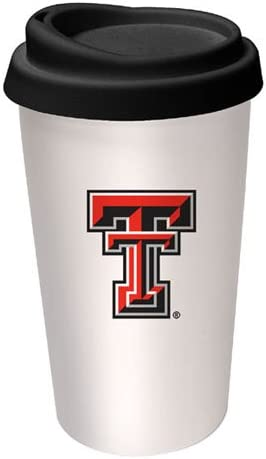 NCAA Texas Tech Red Mug Travel Max 82% OFF Raiders Logo Finally popular brand