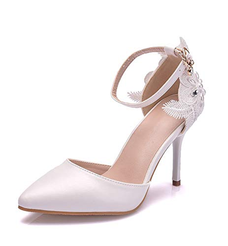 Zapatos De Novia De Mujer, Zapatos De Dama De Honor Sandalias De...
