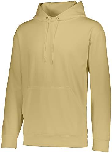 Augusta Sportswear Wicking Fleece Hoodie S Vegas Gold