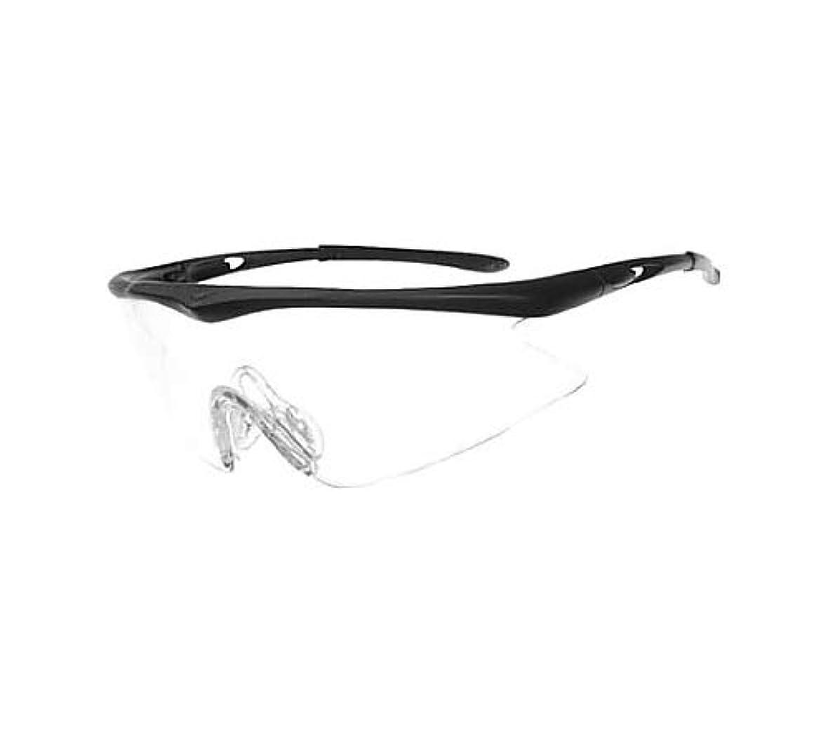 意味のあるオープナー欠如TRUSCO(トラスコ) 一眼型安全メガネ(スポーツタイプ)レンズ透明