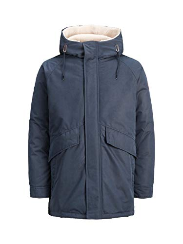 JACK & JONES Male Parka Kapuzen LDark Navy