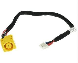 USKKS DC Power Jack Harness Port Connector Socket with Wire Cable for Lenovo SL410 L410 L412 E10 E11 X100E X120E, Edge 14, Edge 15, P/N: 45M2863 45M2862 DD0GC2PB000