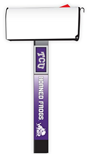 TCU HORNED FROGS MAILBOX POST COVER-TEXAS CHRISTIAN UNIVERSITY MAILBOX POST COVER