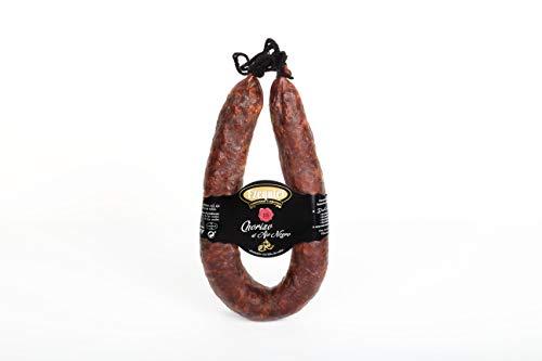 Embutidos Ezequiel Chorizo al Ajo Negro de León, no Picante, 425 Gramos