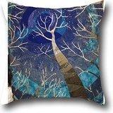 Goling BBay art tree DECORATIVE THROW SOFA Pillow case Decorative Throw Pillow COVER 1818