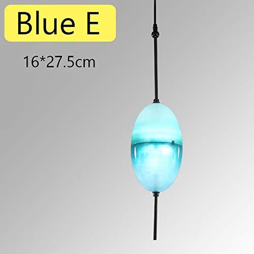 U-Enjoy Araña Nordic Art Blue Gradient Lágrima-Formado De Calidad Superior De...