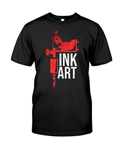 Coil Tattoo Machine Ink Art, T-Shirt Unisex T-Shirt, Youth Shirts, Hoodie, Long Sleeve, Sweatshirt for Men Women Kids, Printed in US