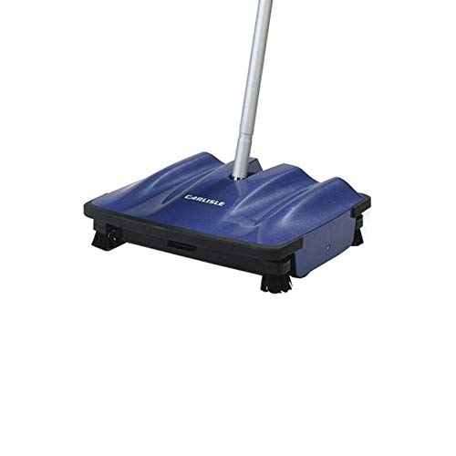 """Carlisle 3639914 Duo-Sweeper Multi-Surface Cordless Floor Sweeper, 10"""" Sweeping Path (4 Pack)"""