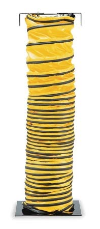 Find Bargain Allegro 15 ft. Blower Ducting with 8 Dia, Black/Yellow; Use With Blower - 9500-15