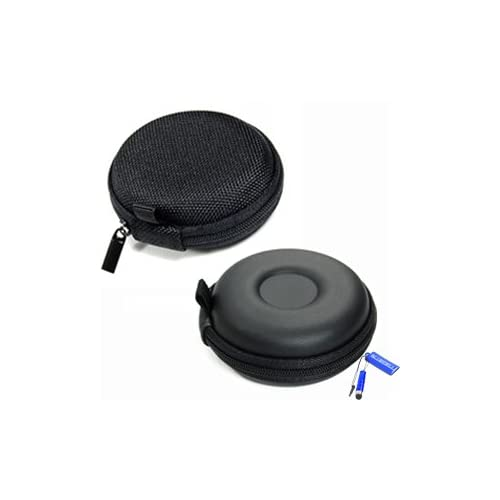 a786921074a Bluecell Black Color PU Leather Earphone Hard Case/bag For Jawbone ERA ICON  HD &
