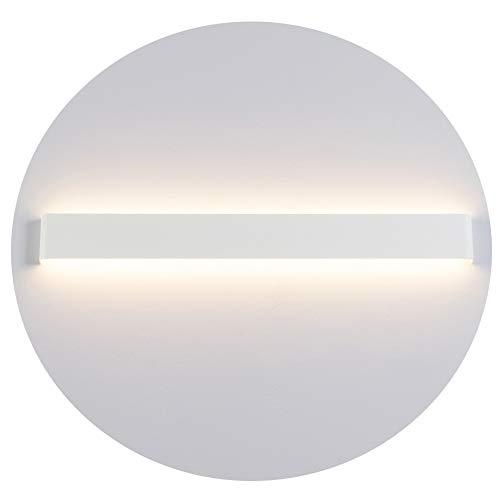 Ralbay LED Wandlampe Up & Down Wandleuchte Innen Spiegelleuchte Warmweiß 3000K Badlampe Wasserdicht 30W für Badzimmer Schlafzimmer Wohnzimmer Treppen 83cm Weiß