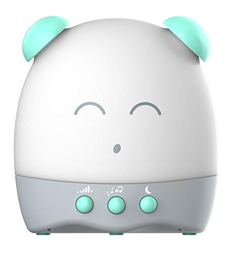 Tiny Boo DES17230 Appareil de Sommeil avec lumière et mélodies Douces, réveil Musical pour Enfants avec Affichage Lumineux, réveil numérique avec Fonction Snooze, réveil Musical pour Les Tout-Petits
