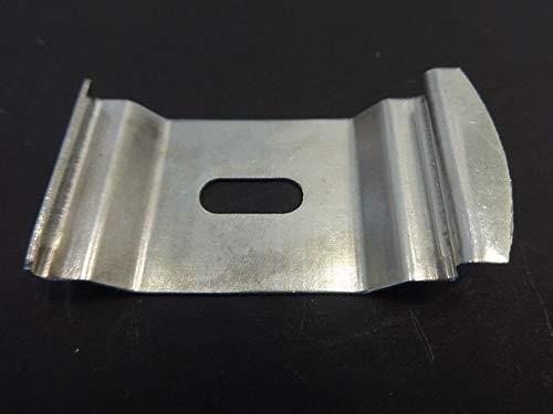 Amazing Drapery Hardware 10 Qté : Store Vertical Snap-in Support Plafond pour 1 1/5,1 cm Piste Clip (C)