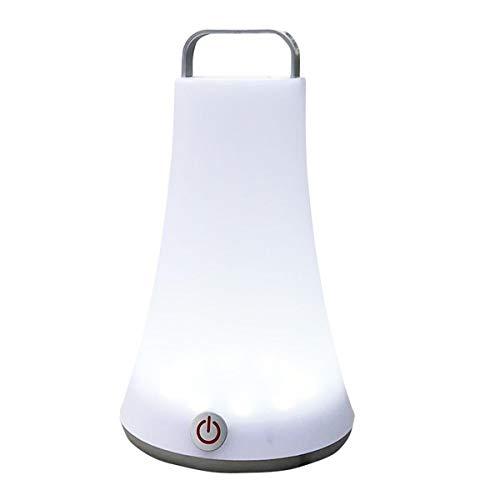 Lampe touch à poser ou à suspendre sans fil LED blanc dimmable TOBY H23cm