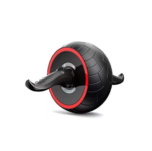 Victor Johnsond Gym ABS Abdominal Roller Laufrad Fitnessgeräte Mute Roller for die Arme zurück Bauchkern Trainer Body Shape Trainings Supplies Equipment (Color : Set one)