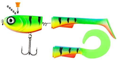 FISHINGGHOST® Grumpy Switch, 23-28gr, 15cm, Queue...
