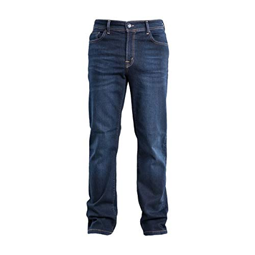 COLAC heren jeans Tim in Dark Used Straight Fit met Stretch