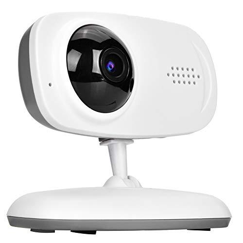 DAUERHAFT Monitor de bebé con cámara IP inalámbrica 720P HD WiFi, con cámara de visión Nocturna Inteligente con detección de Movimiento de intercomunicador bidireccional(Enchufe del Reino Unido)
