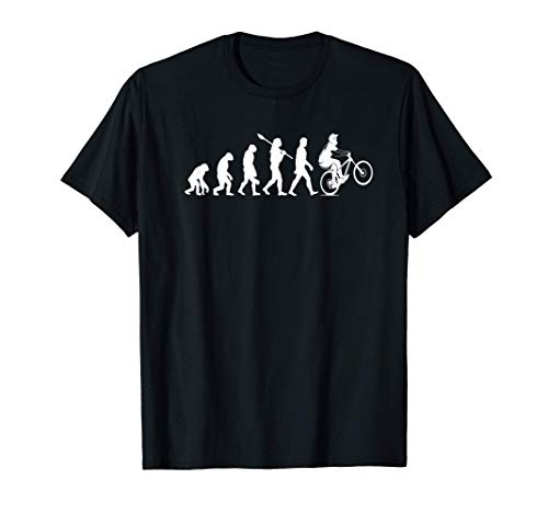 Evolution Downhill Mountain Bike MTB Mountain Biking T-Shirt