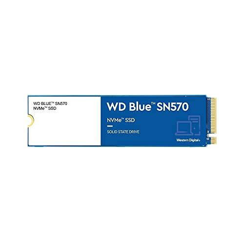 WD Blue SN570 500 GB M.2 NVMe SSD, con hasta 3500MB/s de Velocidad de Lectura
