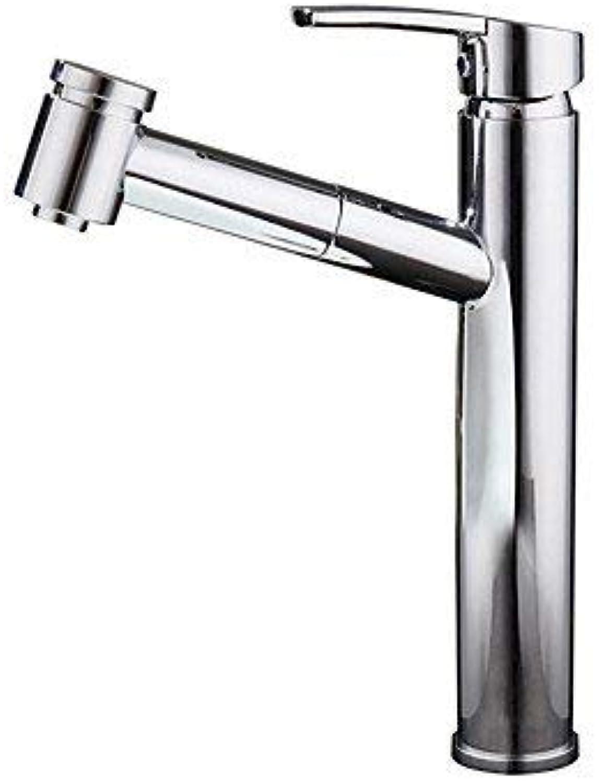Moderne Glamour Central InsGrößetion Keramikventil Ein Griff Ein Loch für Chrom, Waschbecken Wasserhahn
