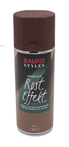 Baufix Rost Effekt Lackspray 400ml Farbspray Vintage matt Sprühdose Spraydose