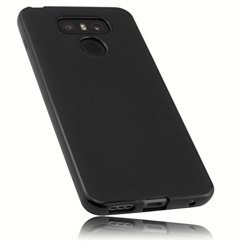 mumbi Hülle kompatibel mit LG G6 Handy Hülle Handyhülle, schwarz