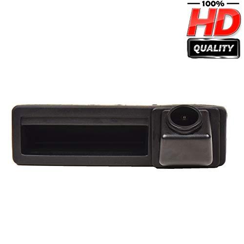 Voiture HD CCD Caméra Imperméable à l'eau de Vision Nocturne Tronc Poignée de Voiture Caméra de Recul de Vue Arrière pour Audi A6L/Q7/A3 8P 8V/A4 B6 B7/A6L/8E /S5