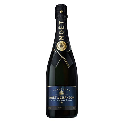 Moet & Chandon Nectar Imperial Champagne con astuccio, 750 ml