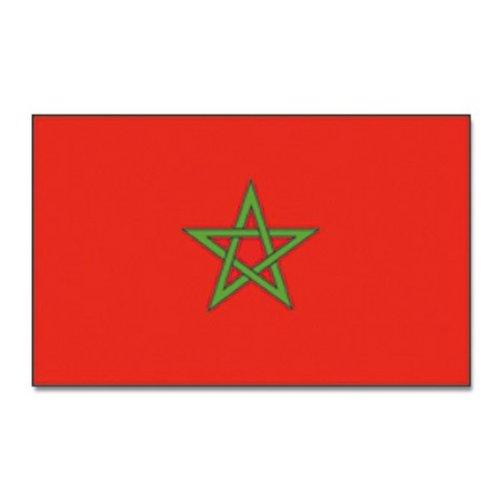 Marokko Grote Vlag 90 x 150cm