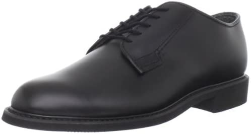Bates Men's Uniform Oxford Shoes Black 15 EE