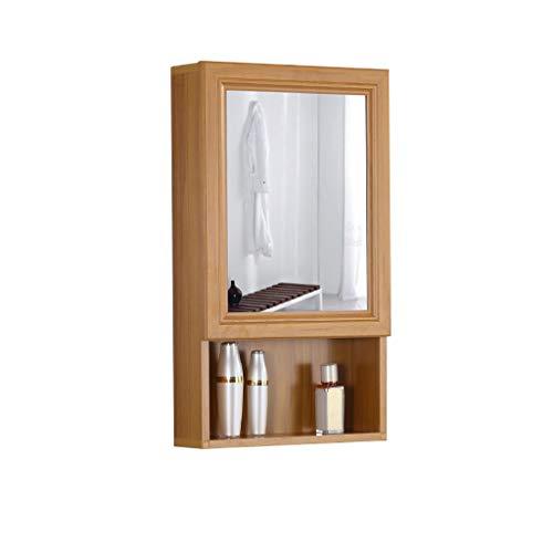 Badkamer kast/muur gemonteerde opbergkast met spiegel en opslag plank, medicijnkastje, ruimte aluminium.