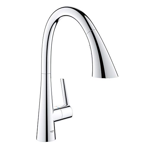 grohe kitchen faucet in chrome - 2